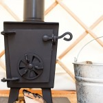 a wood burner to keep your yurt warm