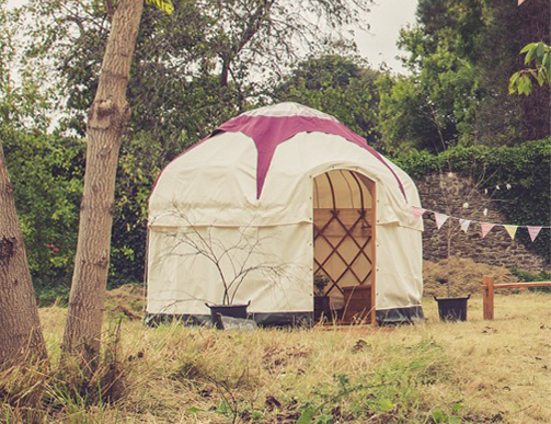10ft Yurt Glamping