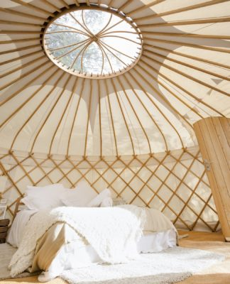 18ft Celestial Yurt, Luxury King Double