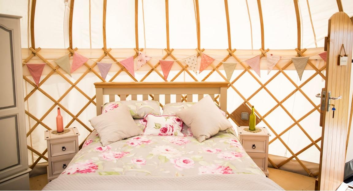 rosewood yurt interior
