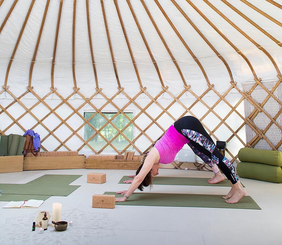 30ft yurt for yoga