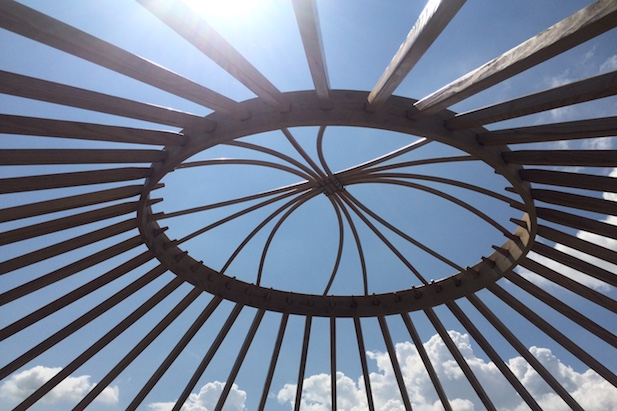 yurt wheel
