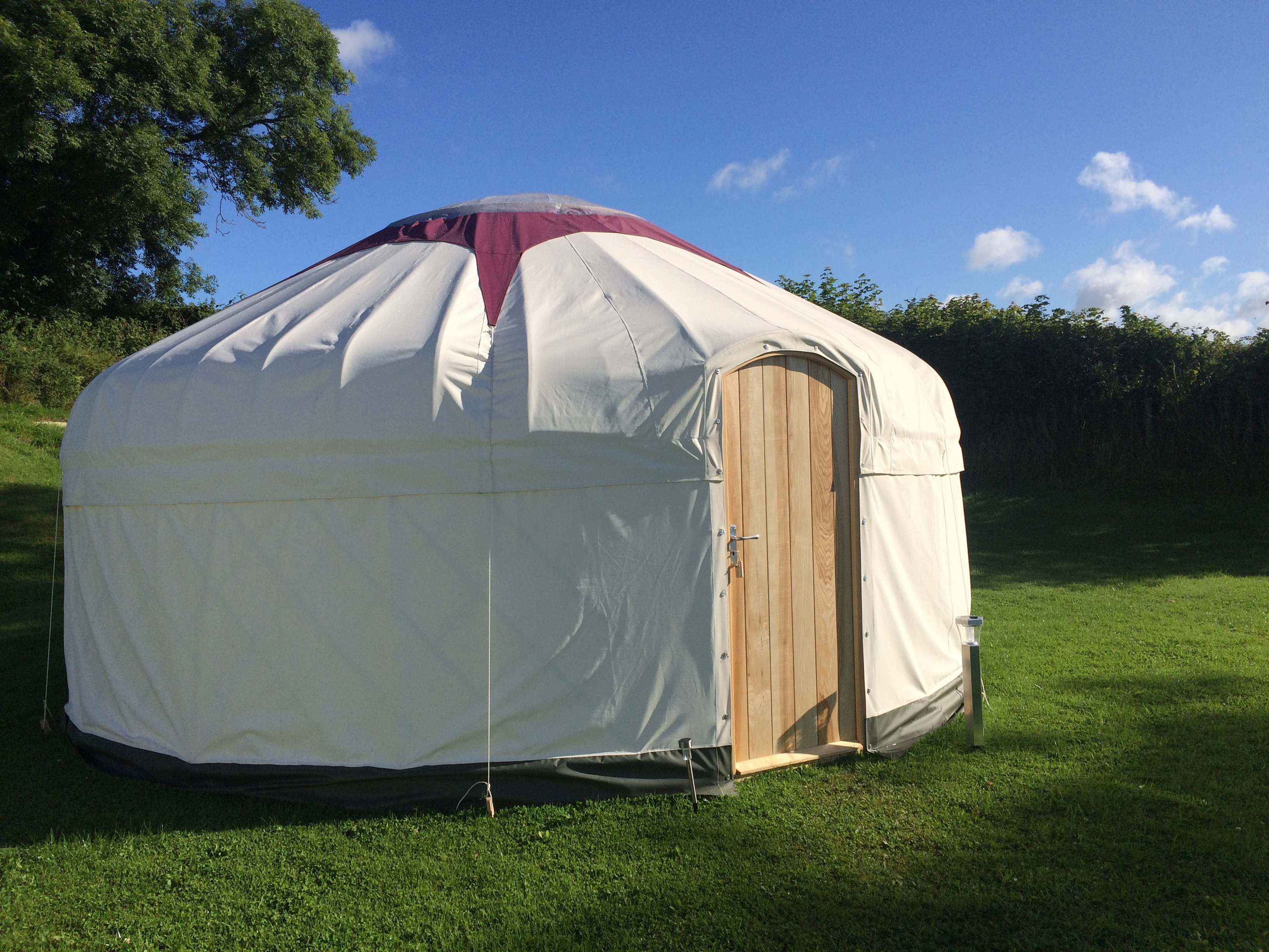 18ft Glamping Yurt for Hire