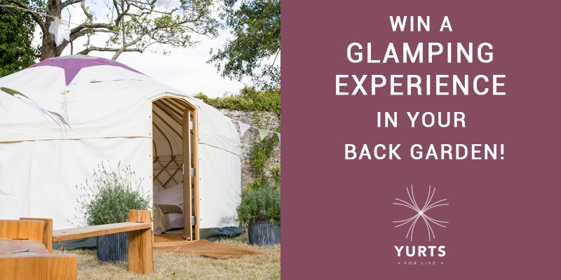 win a glamping experience