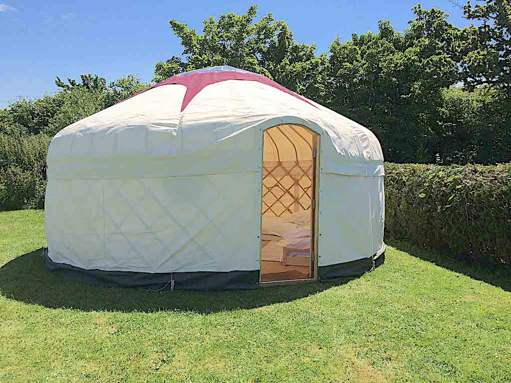 18ft Summer Yurt