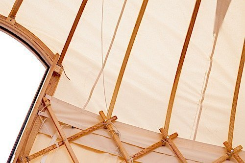 18ft yurt lattice