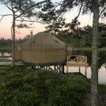 14ft Yurt with lake view