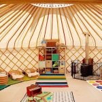 Yurt styled for playgroup