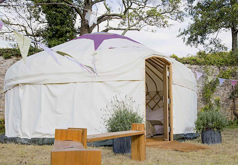 Our 18ft show yurt