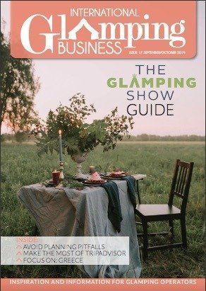 international glamping business magazine